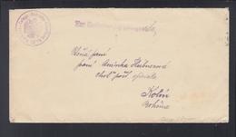 KuK Slowenien Slovenia Brief Idrija Telegr.-Betriebs-Abteilung 82 Z. Beförderung Geignet - 1850-1918 Imperium