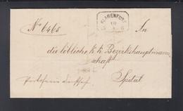 KuK Brief 1880 Klagenfurt Nach Spital - 1850-1918 Imperium