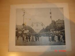 Lamina-Paris-1900--1 , A La Foire De Neully---Le Dimanche - Ancianas (antes De 1900)