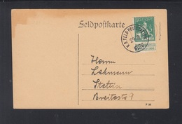Besetzung Belgien PK Feldpoststation 26 Nach Stettin - Besetzungen 1914-18