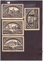4 NOTGELD DER STADT FÜRSTENAU - TB - [11] Local Banknote Issues