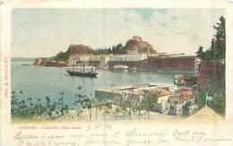 Griechenland -Corfou Citadelle -Gelaufen Ohne Marke - Griechenland