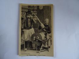 CPA 29  Vieillards Bretons Filleuse Et Fumeur  1918   TBE - People