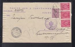 Yugoslavia Cover 1940 Aranđelovac - Briefe U. Dokumente