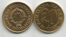 Yugoslavia 20 Para 1978. HIGH GRADE X 10 Pcs KM#45 Wholesale - Yugoslavia