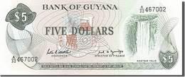 Billet Guyane 5 Dollars - Guyana