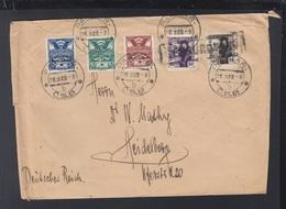 CSR Brief 1920 Parkan Nach Heidelberg - Czechoslovakia