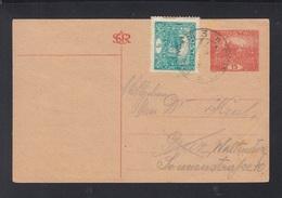 CSR GSK Mit ZuF 1920 Plzen Nach Graz - Briefe U. Dokumente