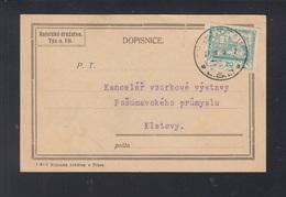 CSR GSK 1920 Vltava Nach Klatov - Briefe U. Dokumente