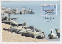 TURKMENISTAN - AK 377413 MC - Caspian Seal - Turkmenistan