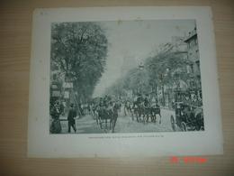 Lamina-Paris-1900--1 Boulevard Des Italiens---Saint-Vincent-de-Paul - Ancianas (antes De 1900)