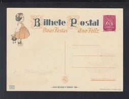 Portugal Stationery Boas Festas Unused - Ganzsachen