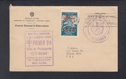 Cuba Dia Del Medico 1948 - Briefe U. Dokumente