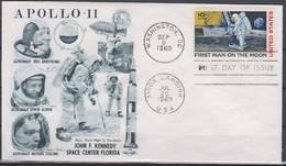 SPACE - Apollo - UNITED STATES - FDC Cover - Space