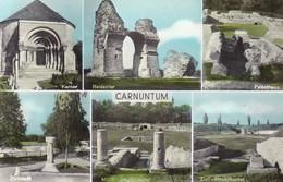 Petronell Carnuntum * Zivilstadt, Heidentor, Totenkammer, Amphitheater, Ruine, Mehrbild * Österreich * AK1329 - Bruck An Der Leitha