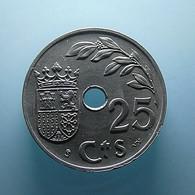 Spain 25 Centimos 1937 - [ 2] 1931-1939 : République