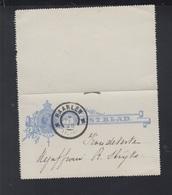 Niederlande Kartenbrief 1898 Haarlem - Ganzsachen