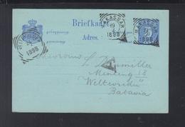 Niederländisch-Indien GSK 1898 Makassar Nach Batavia - Niederländisch-Indien