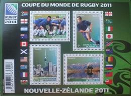 PTT/868 - 2011 - COUPE DU MONDE DE RUGBY - N°F4576 BLOC NEUF** - Cote (2020) : 13,00 € - Blocs & Feuillets