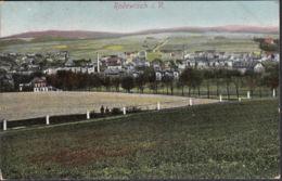 AK Rodewisch Panoramaansicht Bahnpost, Gelaufen 1913 - Deutschland