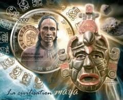 CENTRAL AFRICA 2012 - Mayan Calendar - YT BF438 - Astrologie