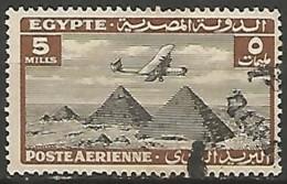 EGYPTE  / POSTE AERIENNE N° 9 OBLITERE - Poste Aérienne