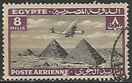 EGYPTE  / POSTE AERIENNE N° 12 OBLITERE - Poste Aérienne