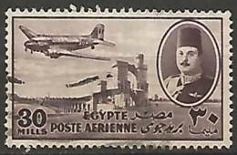 EGYPTE  / POSTE AERIENNE N° 36 OBLITERE - Poste Aérienne