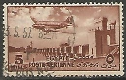 EGYPTE  / POSTE AERIENNE N° 55 OBLITERE - Poste Aérienne