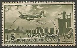 EGYPTE  / POSTE AERIENNE N° 56 OBLITERE - Poste Aérienne