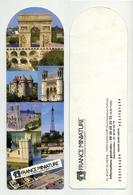 Marque-page - France Miniature - La France Comme Un Géant - Elancourt, Yvelines, France. - Marque-Pages
