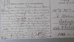 WW1_DAY-1 & 0001 3 & 4 August 1914. Bruxelles To CALMPTHOUT Via Anvers . PK Brussel Palais De Beaux-Arts. See TEXT - Guerre 14-18