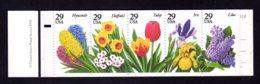 ETATS-UNIS 1993 - Carnet Yvert C 2156 - Scott #2833a - NEUF** MNH - Flore, Fleurs Des Jardins - 1981-...