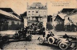 51 Ay En Champagne Excursion Du 25 Octobre 1909 Aux Caves Louis Royer Voitures Old Timers TOP - Ay En Champagne