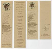 Lot De 2 Marque-page - Nature Et Découvertes - Lire Description - Tortue Turtle Tortoise Schildkröt - Marque-Pages