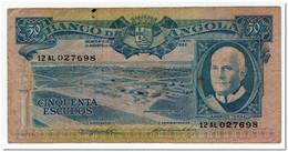 ANGOLA,50 ESCUDOS,1962,P.93,F-VF - Angola
