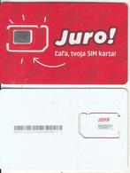 SLOVAKIA - JURO GSM(micro Sim), Chip 5(silver), Mint - Slovaquie