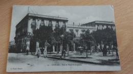 CPA - 19. GUELMA -  Rue Et Place St Augustin - Algeria