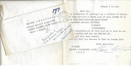 M41 COURRIER POUR LE CYCLISTE JEAN STABLINSKI - Old Paper