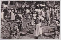 KANKAN (Guinée) - Scène De Marché Affranchissement Timbre République De Guinée - Guinea