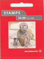 NEW ZEALAND 2004  BOOKLET  $4,00 MONKEY  SG 121  MNH - Unused Stamps