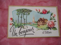 Calvados Un Boujour D Ellon Illustrateur - Frankrijk