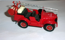Dodge - 4x4 Pompiers SDI DE LA MANCHE - 1/43e - Solido - Non Classificati