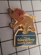 716b Pin's Pins / Beau Et Rare / THEME : DISNEY / DESSIN ANIME HOME VIDEO ELEPHANT LIVRE DE LA JUNGLE - Disney