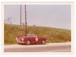 "AUTOMOBILE  ALFA ROMEO "" GIULIETTA CABIOLET "" SPIDER - CAR -  DONNA - FOTO ORIGINALE - Automobili"