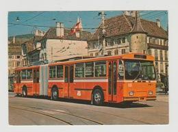 Postcard Bus: TN Trolleybus Serie 51-60 Neuchâtel (CH) 1976 - LKW
