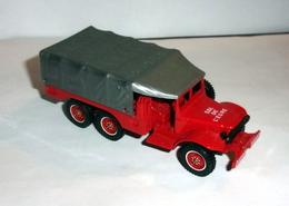 Camion Dodge 6x6 Rouge + Bâche - Solido - Non Classificati