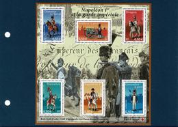 NAPOLEON ET SA GARDE IMPERIALE - Mint/Hinged