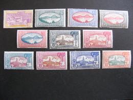 Guadeloupe: TB Série N° 147 Au N° 157, Neufs X. - Guadeloupe (1884-1947)
