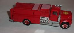 Camion De Pompier Mack - Solido - Non Classificati